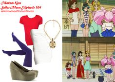 Like Sailor Moon Outfits on Facebook!  Requested by: kittyichooseyou American Apparel cotton solid thigh-high sock in Blue Violet Charlotte Russe mini bandage tube dress in White HM shoes in Khaki Green Forever 21 embellished medallion necklace in Brown/Black