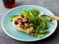 Blue Cheese : Ina's combination of pears, Stilton and port brings together classic English flavors. Serve the roasted and stuffed pears on a base of arugula to give the sweet fruit a peppery contrast.