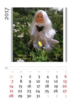 Il calendario 2017 di bibi-bo! El calendario 2017 por bibi-bo!