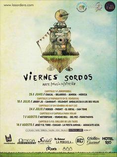 Cresta Metálica Producciones » 20 agrupaciones se presentarán en el circuito musical los Viernes Sordos
