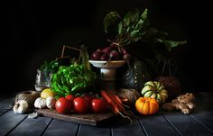 delicious fresh vegetables   by Hannah Blackmore Photography
