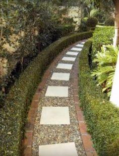 Garden Design Ideas - Photos of Gardens. Browse Photos from Australian Designers & Trade Professionals, Create an Inspiration Board to save your favourite images. Garden Art, Garden Design, Garden Ideas, Backyard Ideas, Back Gardens, Outdoor Gardens, Brick Garden Edging, Robinson, Toms