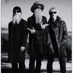 ZZ Top wearing John Varvatos