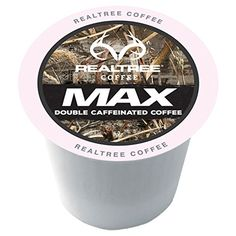 Realtree MAX Single-Cup Coffee for Keurig K-Cup Brewers 40 Count * Wow! I love this. Check it out now! : K Cups