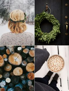 Perfect winter moments.