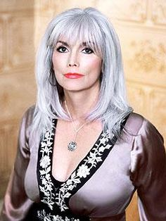"""Hot Silver Hair Women 