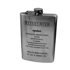 Take a swig from a Polyjuice Potion flask. | 25 Clever Ways To Feed Your Inner Geek