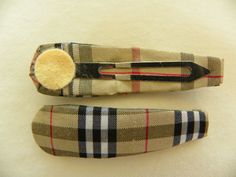 Scottish Check Hair Clips | Barrette  http://laprensaccessories.com/?page_id=12#ecwid:category=0=product=8342946
