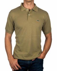 Polos Lacoste Verde - Aloe Lacoste Polo Shirts, Lacoste Men, Lacoste Outlet, Casual Shirts, Casual Outfits, Trouser Jeans, Online Shopping Clothes, Aloe, Mens Fashion