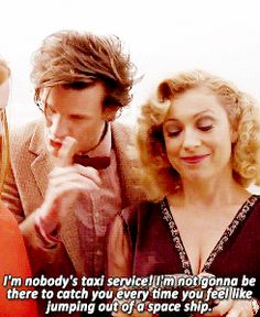 gif doctor who m mg Alex Kingston Eleven x River *doctor who dwedit msedit Geeks, Alex Kingston, Bae, Doctor Who Quotes, Hello Sweetie, Don't Blink, Eleventh Doctor, Torchwood, My Tumblr