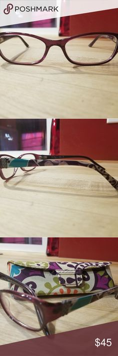 Glasses Plum Crazy, FAITH frames by Vera Bradley Vera Bradley Accessories Glasses