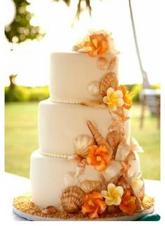 I want a beach wedding one day so this Cake would be Perfect!