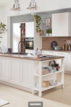 Küchen Design, Kitchen Island, Buffet, Vanity, Storage, Furniture, Home Decor, Industrial, Decoration