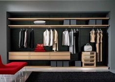 Walk In Closet Design, Bedroom Closet Design, Master Bedroom Closet, Closet Designs, Bedroom Decor, Wardrobe Design, Smart Closet, Modern Closet, Smart Home Design