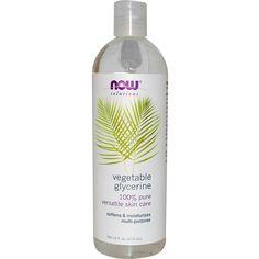 Now Foods, Solutions, Vegetable Glycerine, 16 fl oz (473 ml) - iHerb.com