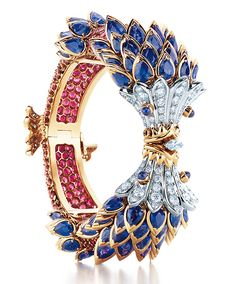 Tiffany & Co.'s sapphire, diamond and ruby Jean-Schlumberger bracelet.