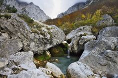 Mountain spring by Islosar