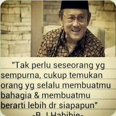 Habibie wisdom