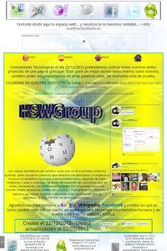 Acceso a todos nuestros proyectos, manuales, cursos. Innovación Tecnológica en beneficio humano y la Tierra...<br>Por Un Mundo Mejor<br>Access to all our projects, manuals and courses. Technological Innovation for human benefit and Earth ...<br>For a Better World...