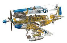 P-51 by Hans Jenssen