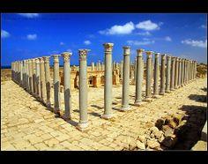 LIBIA.Leptis Magna