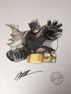 DKR Batman by Humberto Ramos Comic Art