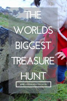 The Worlds Biggest Treasure Hunt. Never be bored on a day out again. Have you ever tried geocaching? It's free, it's fun, you can do it anytime, anywhere. It needs no preparation and is fun for the whole family.