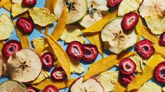 Preserve the natural flavor of peak-season fruits and avoid the additives of store-bought dried fruit with our step-by-step guide for how to dehydrate fruit. Beet Chips, Apple Chips, Dried Strawberries, Dried Fruit, Fruit Dryer, Fruit Infused Water, New Fruit, Dehydrated Food, Dehydrator Recipes