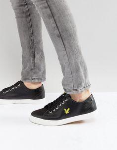 Lyle & Scott Perforated Sneaker Black - Black