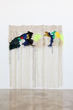 // Ann Cathrin November Høibo . 2013 textile weaving woven fiber art sculpture wall hanging