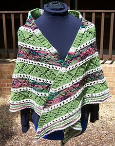 Ravelry: Hugs 'n' Kisses shawl pattern by Mary C. Gildersleeve #knit, #knitting, #handknitting, #lace, #shawl, #BHWHknits, #MaryGknits, #design, #knitdesign