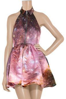 Christopher Kane galaxy dress