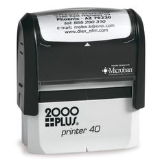 Cosco 2000 Plus Printer 60 Largest self-Inking Stamp. Up to 8 Lines.This Stamp is Perfect for Bank Endorsement, Return Address or Custom Message Stamps self Inking Stamp Best Stocking Stuffers, Custom Rubber Stamps, Address Stamp, Stamp Making, Self Inking Stamps, Return Address, Ink Color, Stamping Up, Frugal