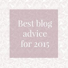Bettering Your Blog in 2015