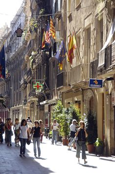 El Born is one of the most popular areas in Barcelona and quite cosmopolitan and fashionable