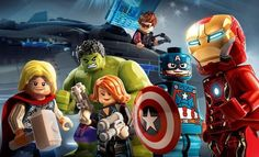 Lego Marvel's Avengers: Veja Como Ficou a Ambientação do Novo Game