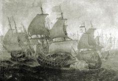 La batalla naval del 6 de agosto de 1621 de la escuadra de Don Fabrique de Toledo contra otra holandesa. Atacó en esta ocasión, con una fuerza de seis navíos y dos pataches, a un convoy holandés, compuesto de una treintena de buques de guerra y mercantes, logrando hundir a cinco navíos y apresar otros dos sin ninguna pérdida por parte de su escuadra.