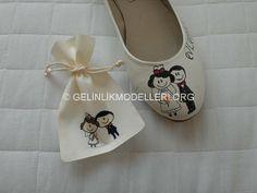 Şık desenli gelin ayakkabı Görselleri › Gelinlik Modelleri 2014 En Yeni Güzel Gelinlik Modelleri