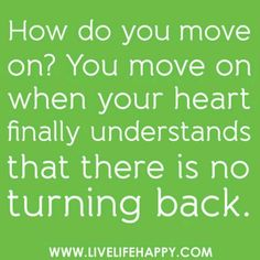 Moving on.