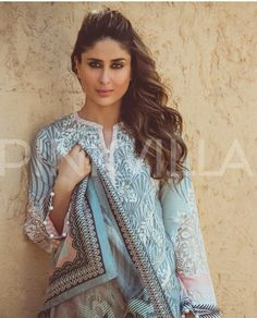 There can be no denying the fact that Kareena Kapoor is one of the most charismatic, sought after and popular actresses in Bollywood at present. Indian Celebrities, Bollywood Celebrities, Bollywood Fashion, Bollywood Actress, Bollywood Stars, Fashion Couple, Girl Fashion, Faraz Manan, Karisma Kapoor