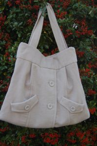 creating a bag out of a former jacket tutorial