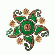 Buy Simple Kundan Rangoli Online @799 at Craftfurnish