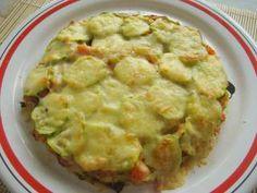 Pastel de calabacin y zanahoria al microondas, Receta Petitchef