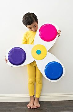 hello, Wonderful - DIY GIANT FIDGET SPINNER CARDBOARD COSTUME