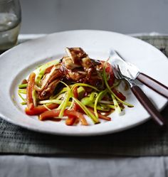 Use whatever cut of chicken you prefer in this easy teriyaki chicken stir fry