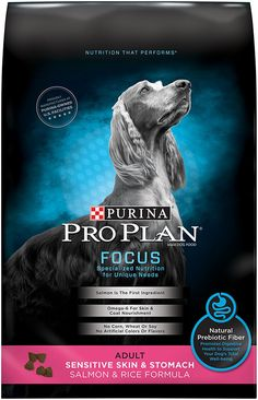 Purina Pro Plan Focus Sensitive Skin and Stomach Salmon and Rice Formula Dry Dog Food >> Quickly view this special dog product, click the image : Best dog food