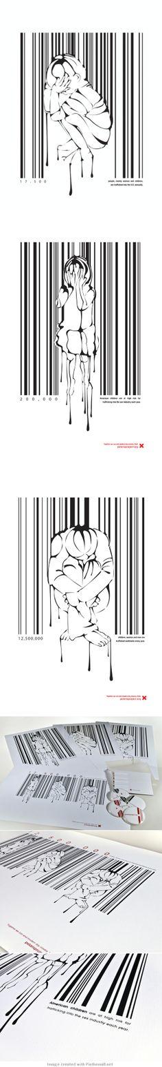 Heartbreaking Human Trafficking Campaign