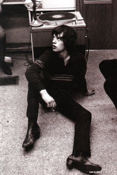 Mick Jagger 1964 via i@tumblr Cool for Cats