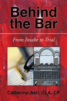 Follow two cases, from intake to trial, through the entire civil process and gain a broad-based, big-picture understanding of the work involved as a paralegal in a trial practice. From the author of Behind the Bar-Inside the Paralegal Profession, this second book in the innovative and popular Behind the Bar series adopts the same readable, novel-like style and is sure to teach paralegals how to assess and work on any civil case—from intake to trial.