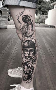 Tatuagem sketch: artistas brasileiros para você seguir! - Blog Tattoo2me Tattoos, New Tattoos, Tattoo, Artists, Tatuajes, Tattos, Tattoo Designs
